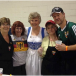 Kicker workers at Maryland German Festival