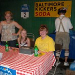 Kicker's soda stand at Festival