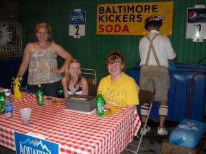 Kicker's soda stand at Festival