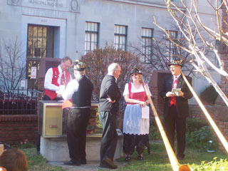 Christmas Market at Zion Church cosponsored by Baltimore Kickers