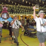 Barrel March at Oktoberfest